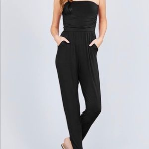 Pants - NWT strapless jumpsuit